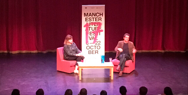 George Monbiot at the Manchester Literature Festival